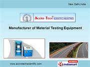 Cement & Concrete Testing Equipment By Accro-Tech Scientific