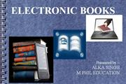 PPT ON E-BOOKS