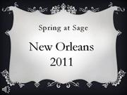 New Orleans SHS 2011 - With Music