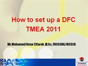 TMEA 2011 HOW TO SET UP A DIABETIC FOOT CLINIC