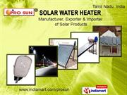 Solar Power Products By Prosun Energy Pvt. Ltd (A Unit Of K.S