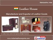 Miscellaneous Leather Goods By Leather House (Unit Of Cnb Exports)