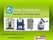 Ozonation Systems By Ozone Technologies Noida