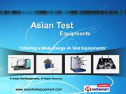 Air Permeability Tester By Asian Test Equipments Ghaziabad