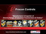 Power Transformers By Procon Controls Coimbatore