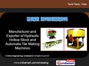 Hollow Block Machines By Shree Engineering Coimbatore