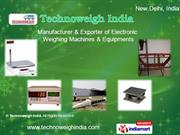 Weigh In Motion By Technoweigh India New Delhi