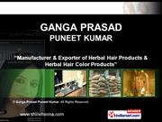 Natural Henna Products By M/S Ganga Prasad Puneet Kumar Faridabad