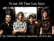 To our All Time Low boys