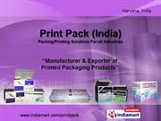 Laminated Mono Cartons By Print Pack (India) Faridabad