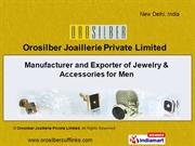 Tuxedo Studs By Orosilber Joaillerie Private Limited New Delhi