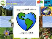 lets celebrates World Environment Day