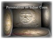Personalities on Indian Coins