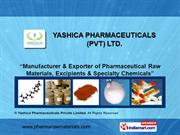Pharmaceutical Intermediates By Yashica Pharmaceuticals Private