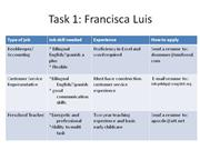 Task 1 Francisca Luis