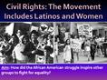5-The Movement Includes Latinos and Women