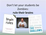 Don't let your students be Zombies