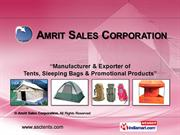 Camping Equipment By Amrit Sales Corporation New Delhi