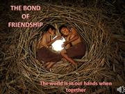 The Bond Of Friendship