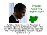 NIGERIA THE OBAMA EFFECT