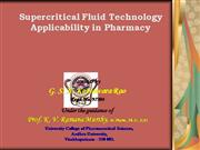 Supercritical Fluid Technology