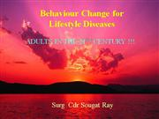 Behaviour Change for Lifestyle Diseases