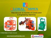 Concrete Block Machines By Global Impex Coimbatore