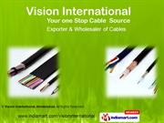 Cables And Wires By Vision International, Ahmedabad Ahmedabad