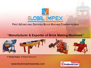 Concrete Block Making Machine Stationary By Global Impex Coimbatore