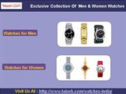 Watches to India,Watches for Men,Watches for Women – Talash.com