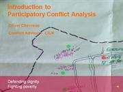Introduction to Conflict Analysis