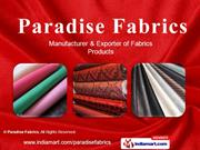 Apparel Fabrics By Paradise Fabrics New Delhi