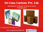 Specialised Corrugated Cartons By Sri Uma Cartons Pvt Ltd Chennai