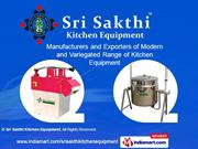 Cooking Preperation Equipment By Sri Sakthi Kitchen Equipment