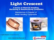 Electric Wire Rope Hoists By Light Crescent Coimbatore
