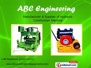 Hydraulic Concrete Block Making Machine By Abc Engineering Coimbatore