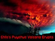 Chile's Puyehue Volcano Erupts 2011
