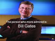my favorite person: Bill Gates