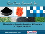 Natural Brassinolides By East Coast Seaweed Inc. Madurai