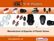 Gate Valves By G. K. Plastics Coimbatore
