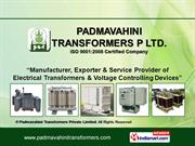 Dry Type Transformer By Padmavahini Transformers Private Limited