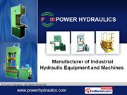 Deep Draw Hydraulic Press By Power Hydraulics Chennai