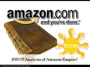 SWOT Analysis on Amazon.com