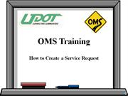 Service Request Training