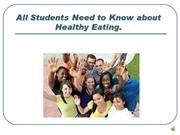 Healthy Eating Guide for UCC Students