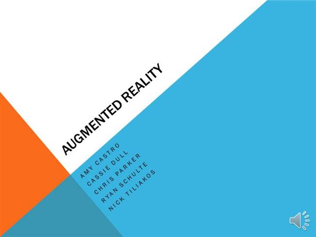 Augmented Reality Authorstream