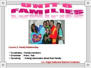 U8 Lesson 1 - Family relationship