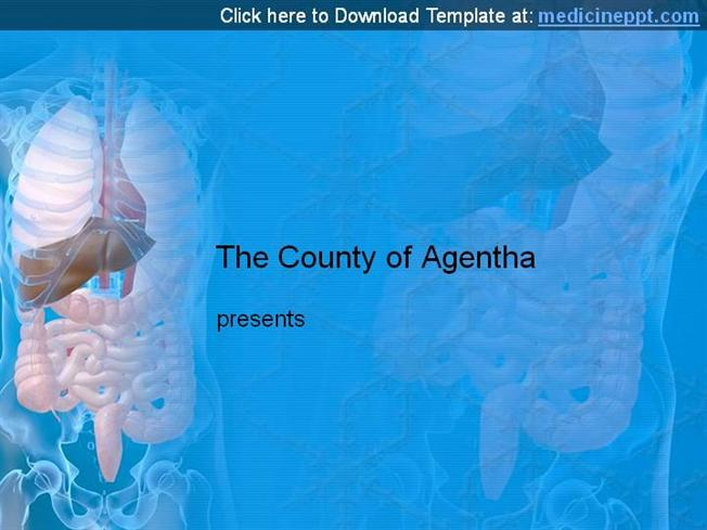 Digestive system powerpoint template authorstream toneelgroepblik Images