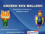 Ground And Stand Balloon By Ganesh Sky Balloon New Delhi