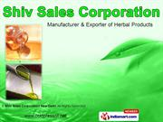 Herbal Extracts By Shiv Sales Corporation New Delhi New Delhi